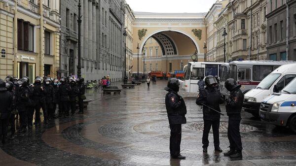 В Петербурге задержали 25 участников несогласованной акции