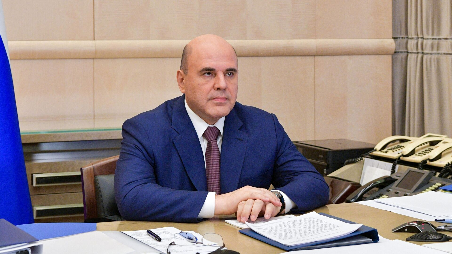 Председатель правительства РФ Михаил Мишустин - РИА Новости, 1920, 27.04.2021