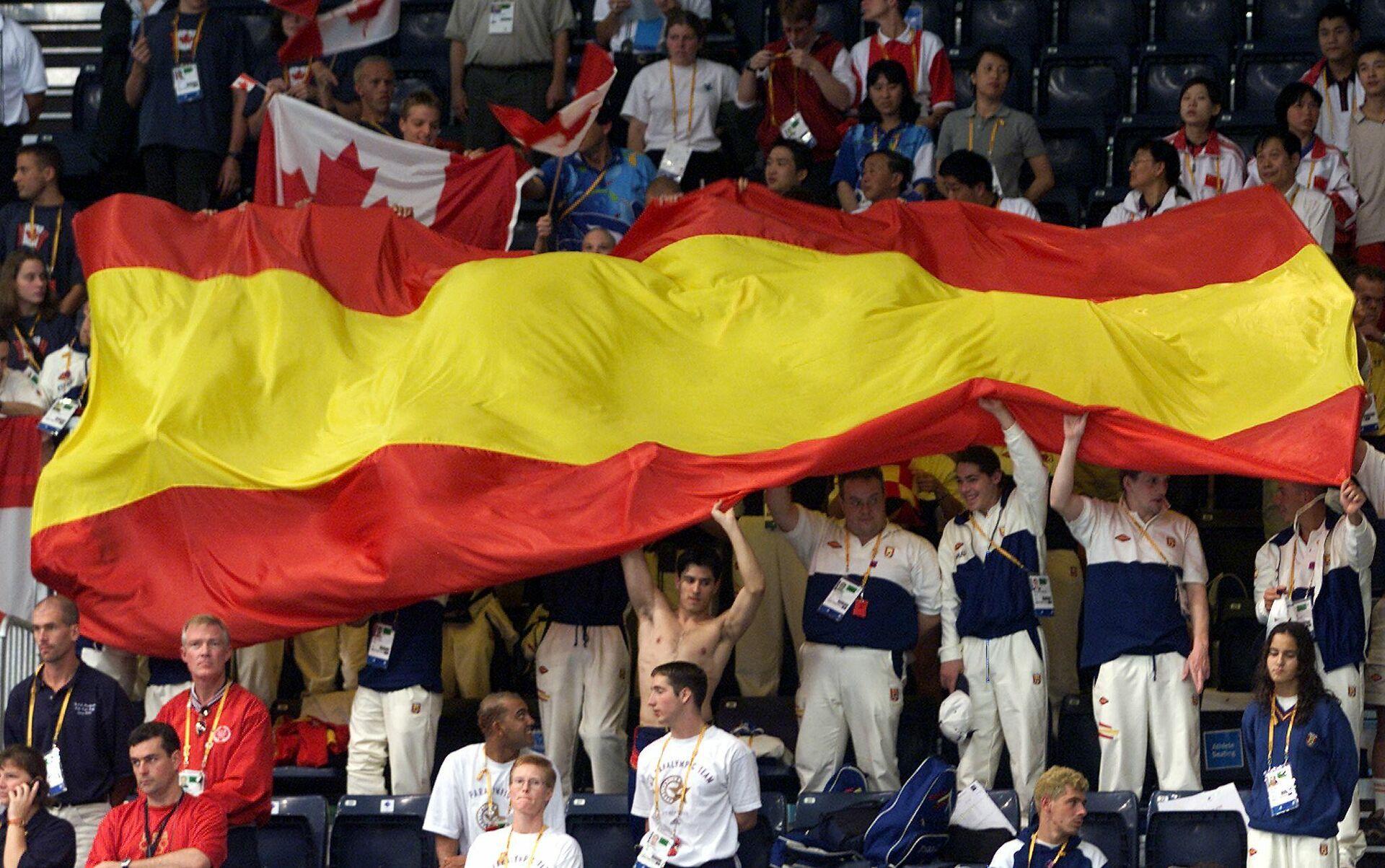 Спортсмены сборной Испании на Паралимпиаде 2000 года в Сиднее - РИА Новости, 1920, 22.04.2021