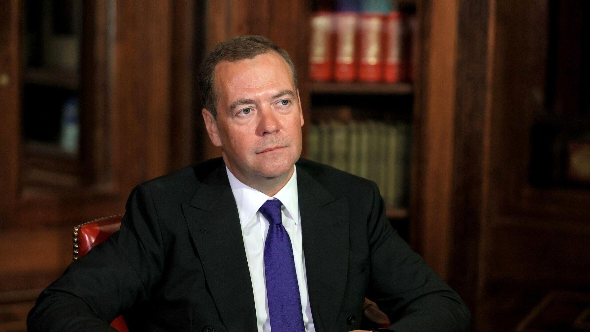 Заместитель председателя Совета безопасности РФ Дмитрий Медведев - РИА Новости, 1920, 23.04.2021