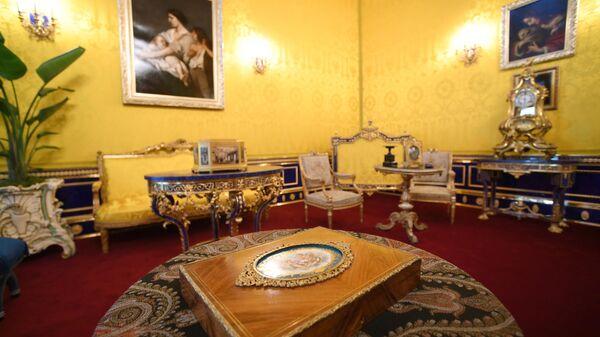 Интерьер Лионского зала Екатерининского дворца
