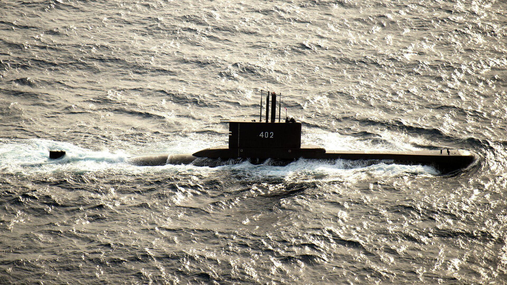 Подводная лодка ВМС Индонезии KRI Nanggala-402 - РИА Новости, 1920, 25.04.2021