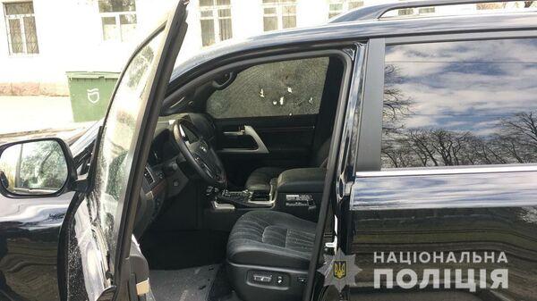 В Днепре неизвестные застрелили водителя Land Cruiser