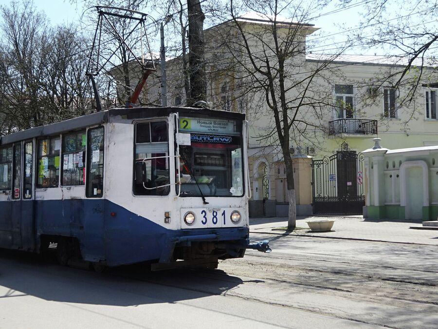 Трамвай в Таганроге