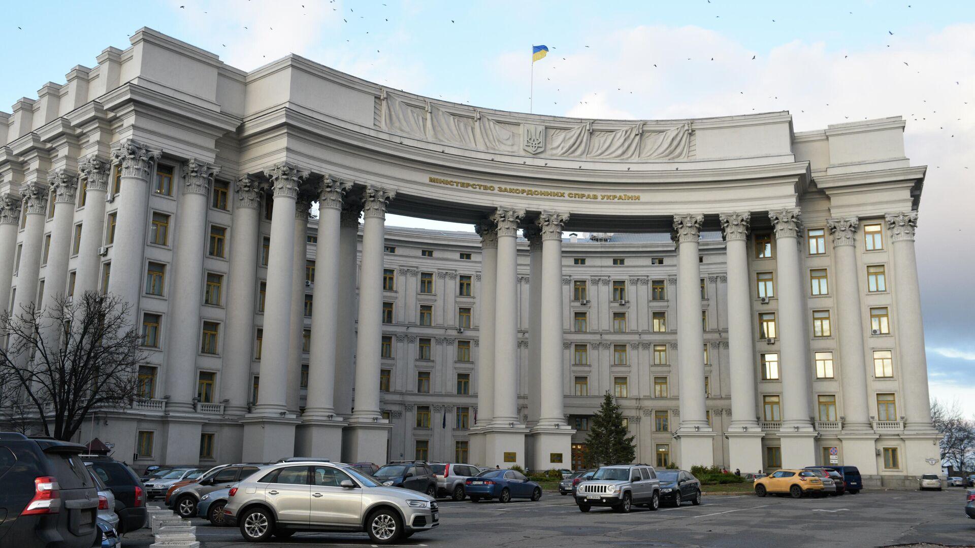 Здание министерства иностранных дел в Киеве. - РИА Новости, 1920, 21.07.2021