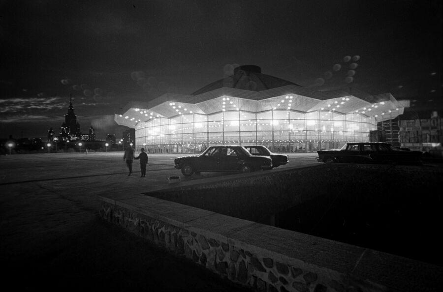 Здание Большого Московского государственного цирка на проспекте Вернадского. 15 июня 1971 года