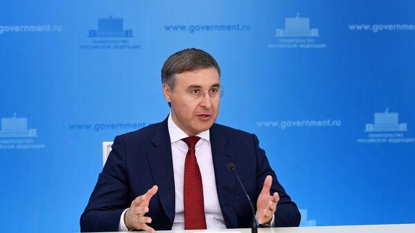 Брифинг министра науки и высшего образования РФ В. Фалькова