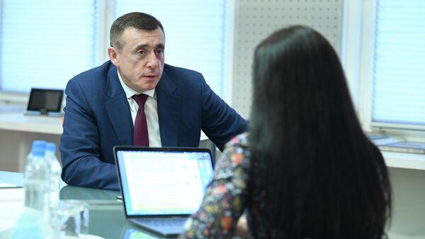 Интервью губернатора Сахалинской области Валерия Лимаренко