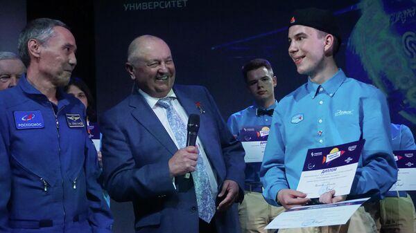 Победитель проекта Просто космос Никита Волков