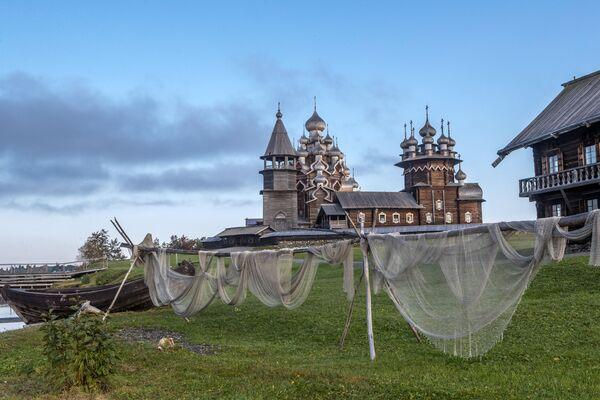 Музея-заповедник Кижи в Карелии