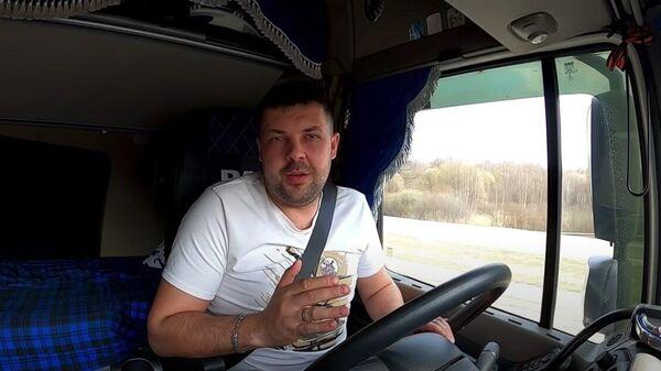 Стоп-кадр видео с участием блогера Анатолия Кречетова