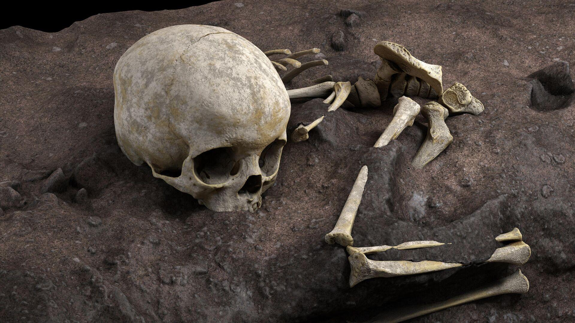 Найдено древнейшее человеческое захоронение в Африке