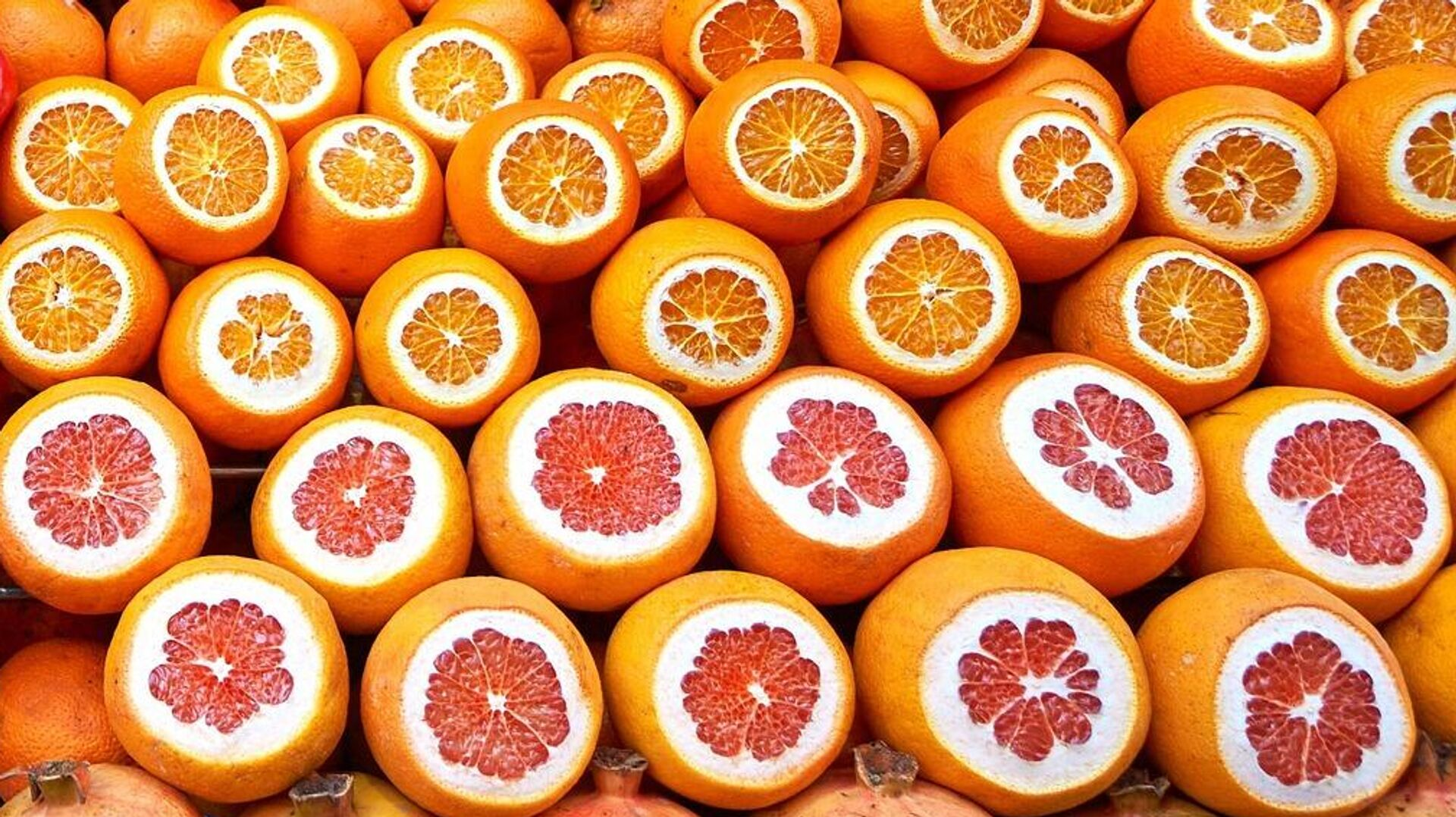 Апельсины, гранаты, грейпфруты - РИА Новости, 1920, 02.05.2021