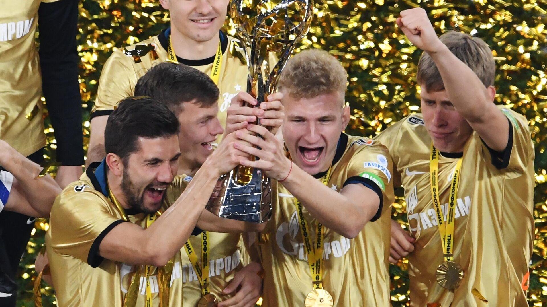 ФК Зенит стал досрочно чемпионом России - РИА Новости, 1920, 02.05.2021