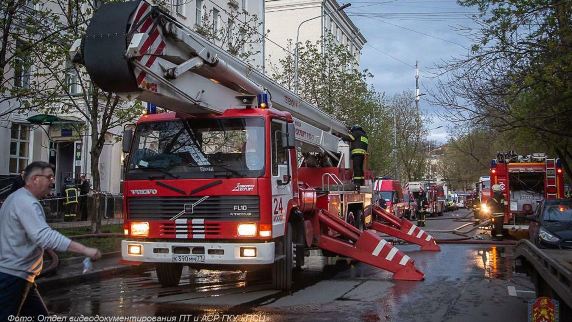 Бастрыкину доложат о расследовании дела о пожаре в московском отеле