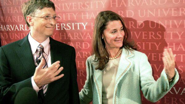 Билл Гейтс с супругой Мелиндой