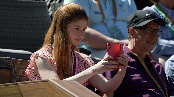 Билл Гейтс с дочерью Дженнифер