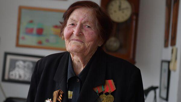 Ветеран Великой Отечественной войны Валентина Шульгина