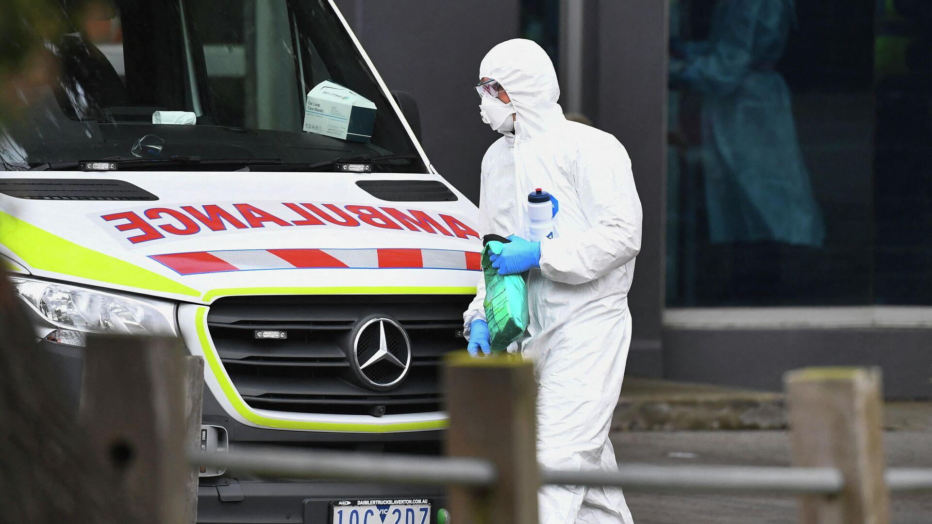 В Австралии неизвестный напал с топором на двух человек