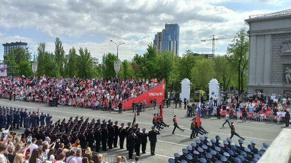 Празднование 76-й годовщины Великой Победы в Самаре