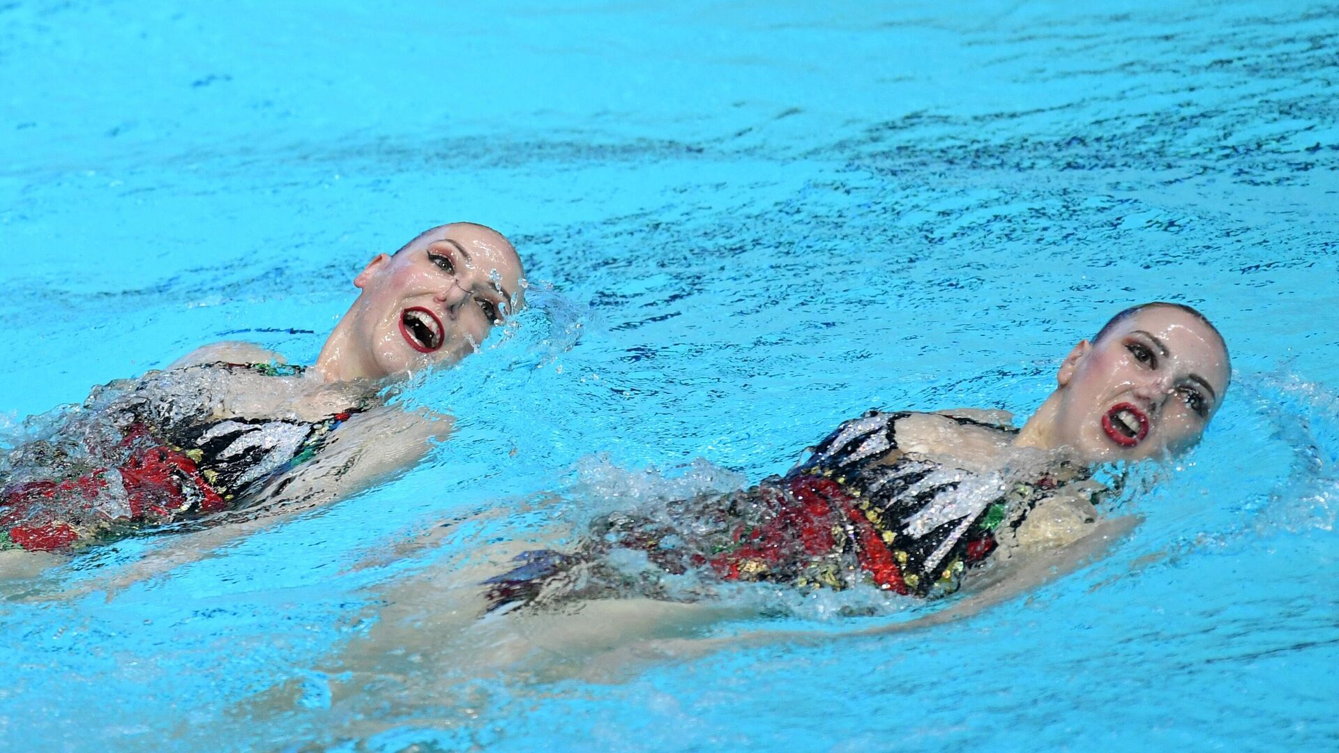 Синхронное плавание. III этап Мировой серии FINA. Дуэт. Техническая программа - РИА Новости, 1920, 13.05.2021