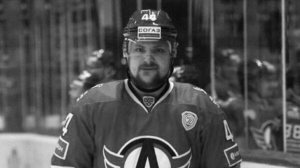 Хоккеист Владислав Егин.