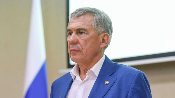 Президент Республики Татарстан Рустам Минниханов на внеочередном заседании антитеррористической комиссии в Казани