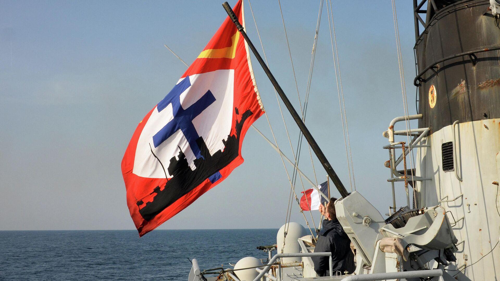 Корабль Командан Биро ВМС Франции в Черном море - РИА Новости, 1920, 11.05.2021