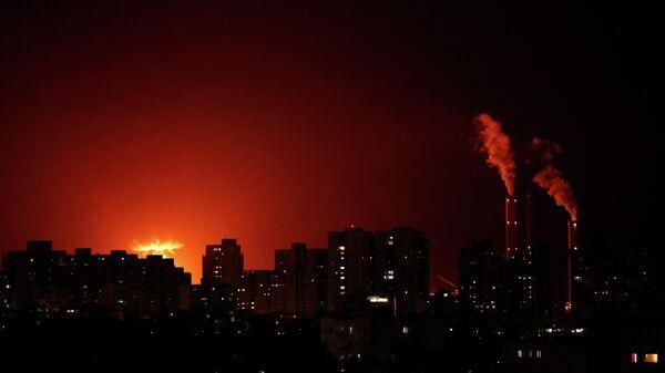 Ракетные удары по Израилю