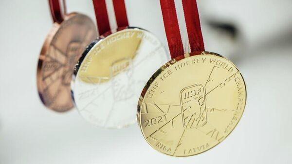 Медали чемпионата мира по хоккею
