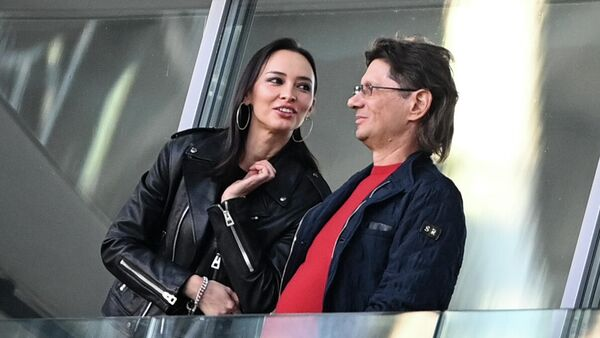 Зарема Салихова и Леонид Федун.