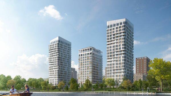 Проект ЖК Остров в Москве