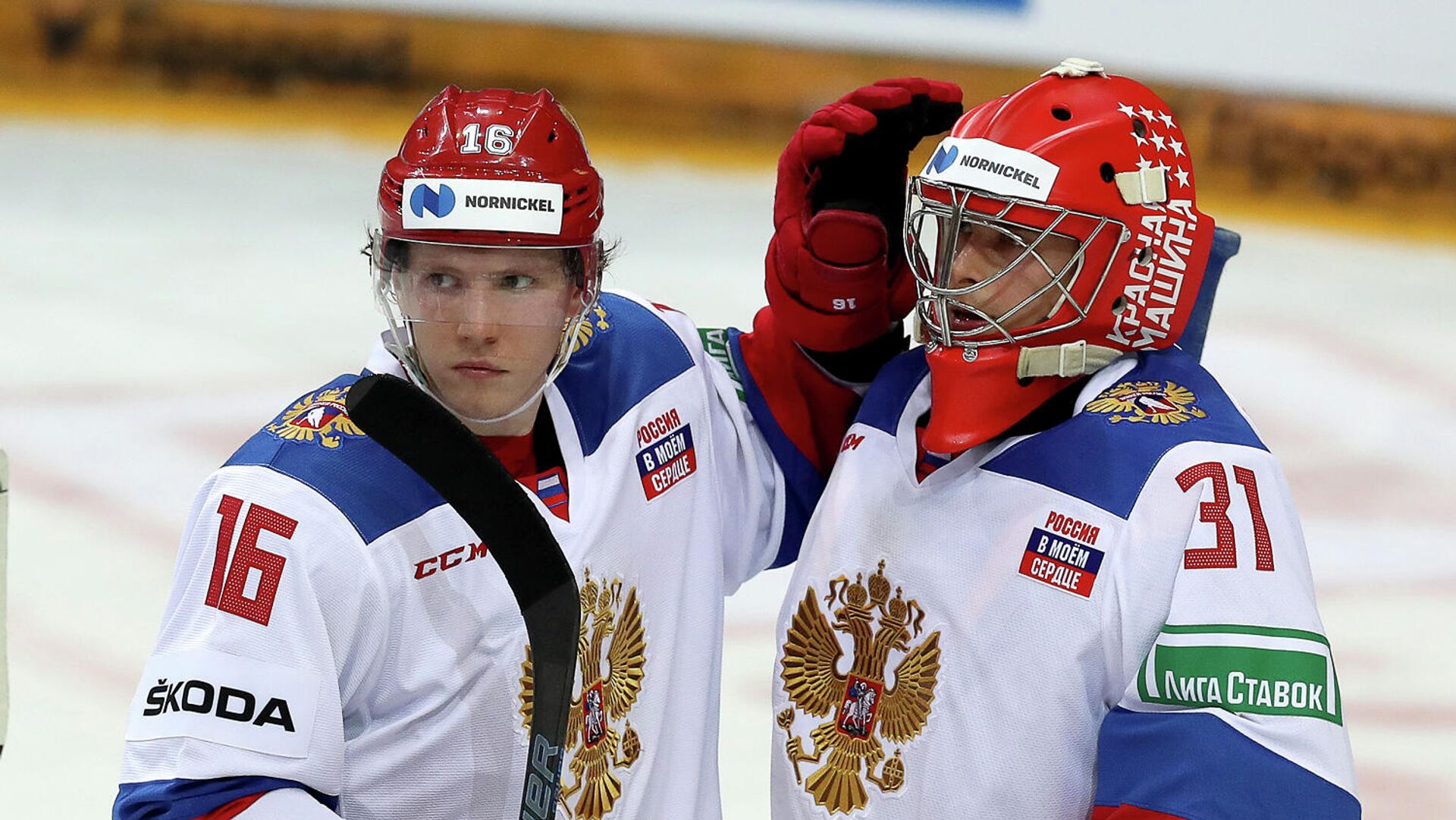 Хоккеисты сборной России - РИА Новости, 1920, 15.05.2021