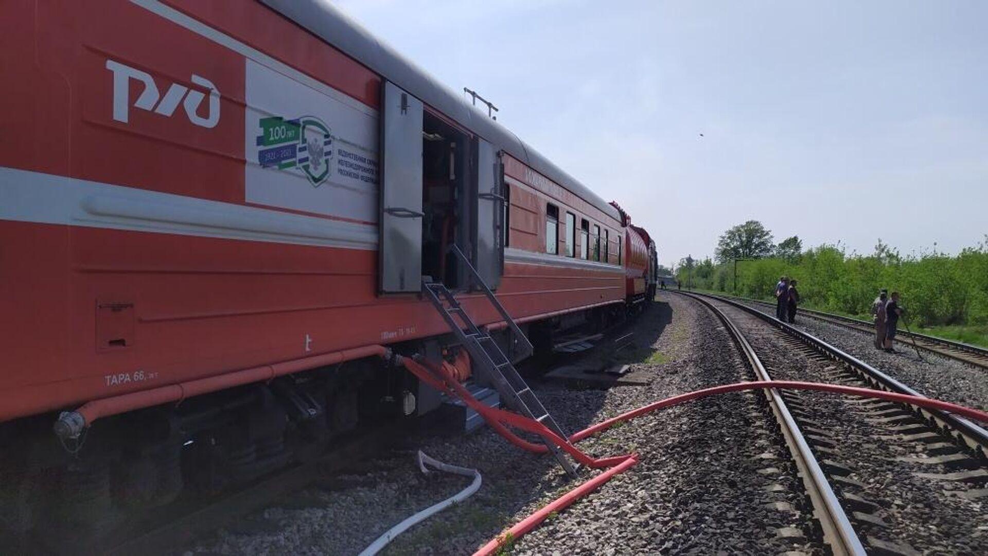 Под Ульяновском потушили пожар на территории бывшего лесокомбината