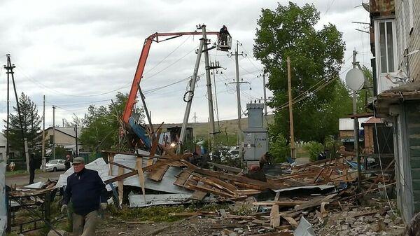 Последствия урагана в Костромской области