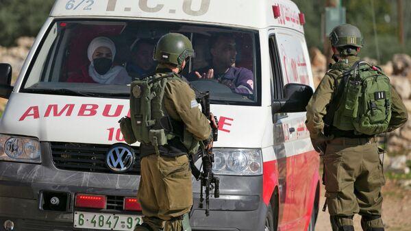 Машина скорой помощи в Израиле