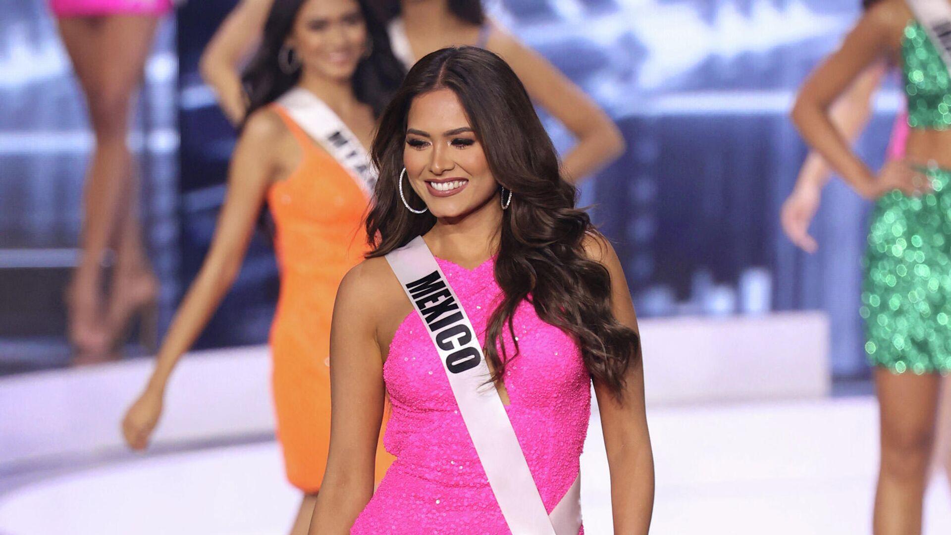 Новой мисс Вселенная стала участница из Мексики - РИА Новости, 17.05.2021