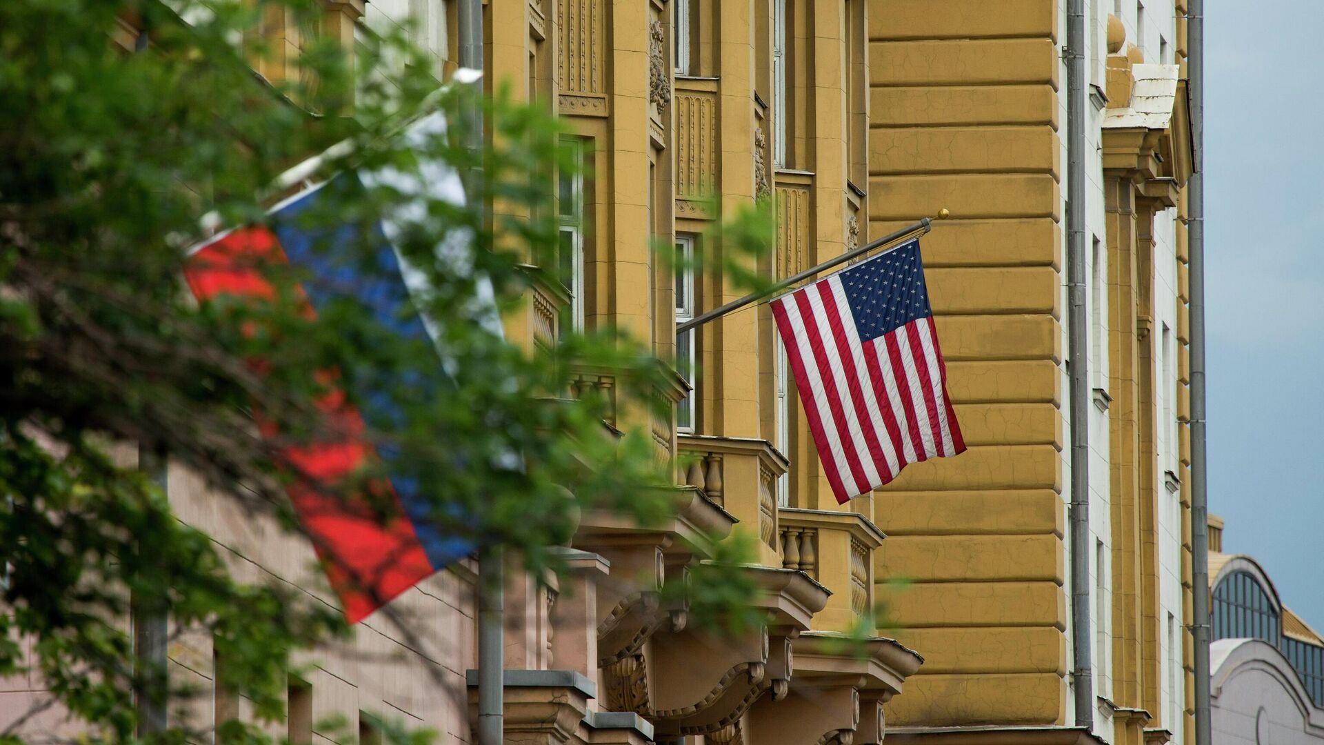 Посольство США в Москве  - РИА Новости, 1920, 12.07.2021