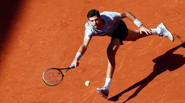 Теннисист Карен Хачанов (Россия)