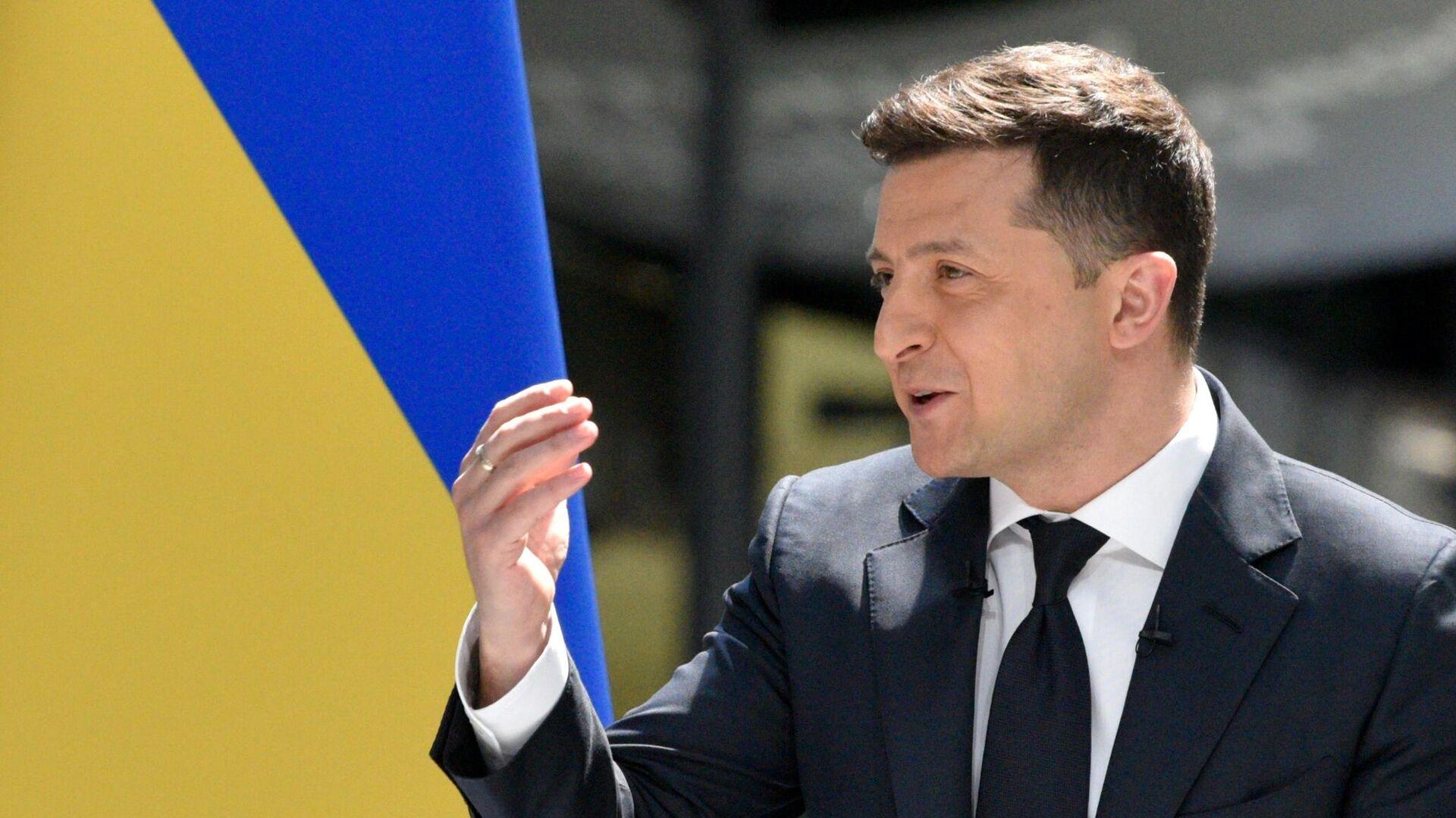 Президент Украины Владимир Зеленский - РИА Новости, 1920, 19.06.2021