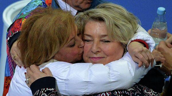 Тренеры Елена Буянова и Татьяна Тарасова