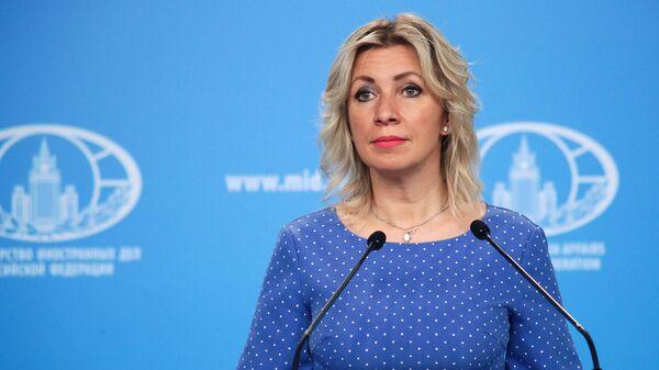 Захарова прокомментировала слова секретаря СНБО о Германии и Франции