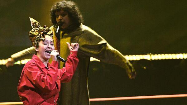 Певица Манижа на репетиции финала 65-го международного конкурса песни Евровидение - 2021
