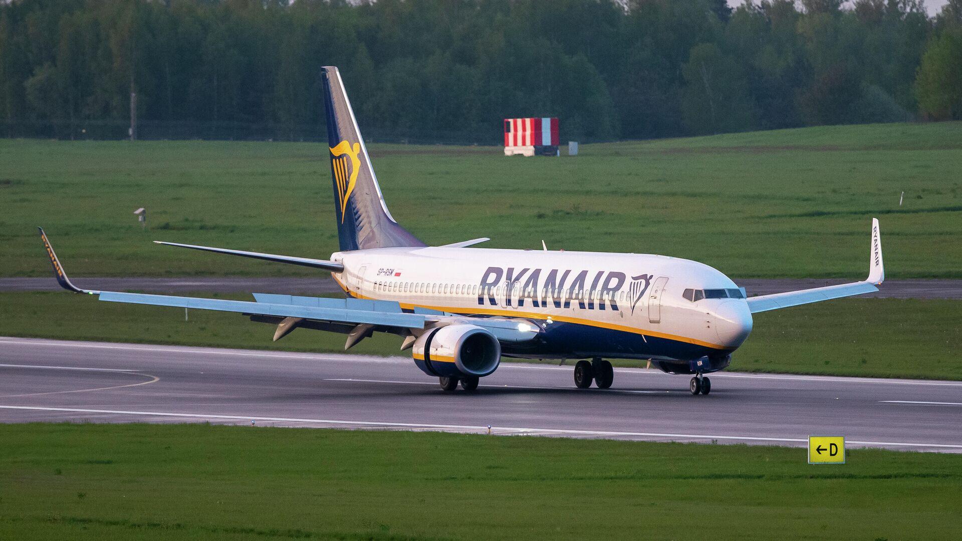 МИД Бельгии вызвал посла Белоруссии из-за инцидента с самолетом Ryanair