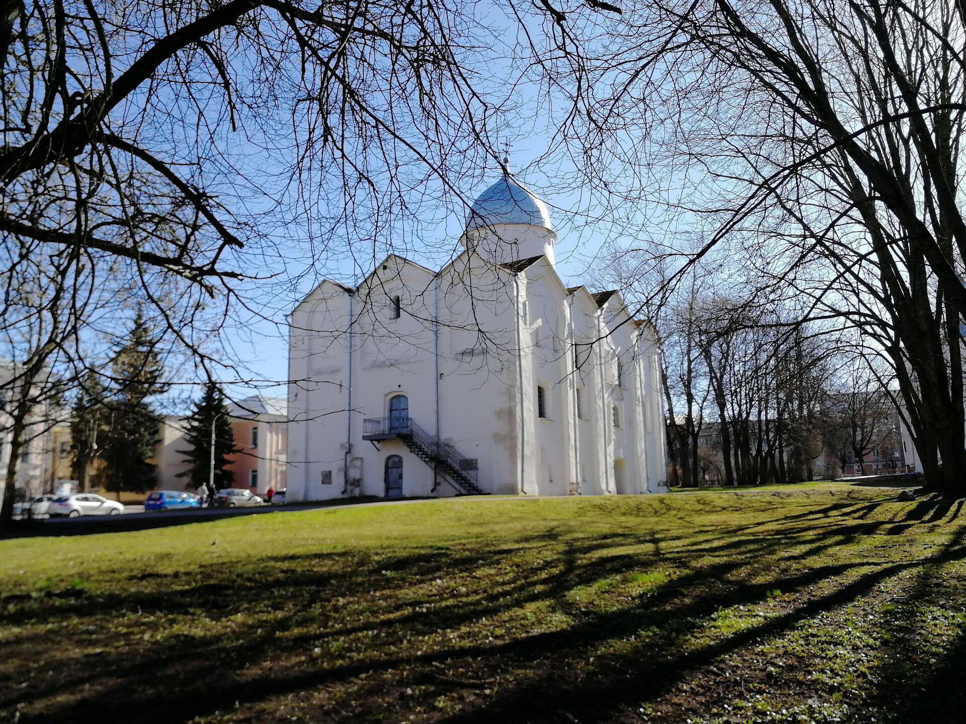 Ярославово дворище. Церковь Иоана на Опоках - РИА Новости, 1920, 24.05.2021