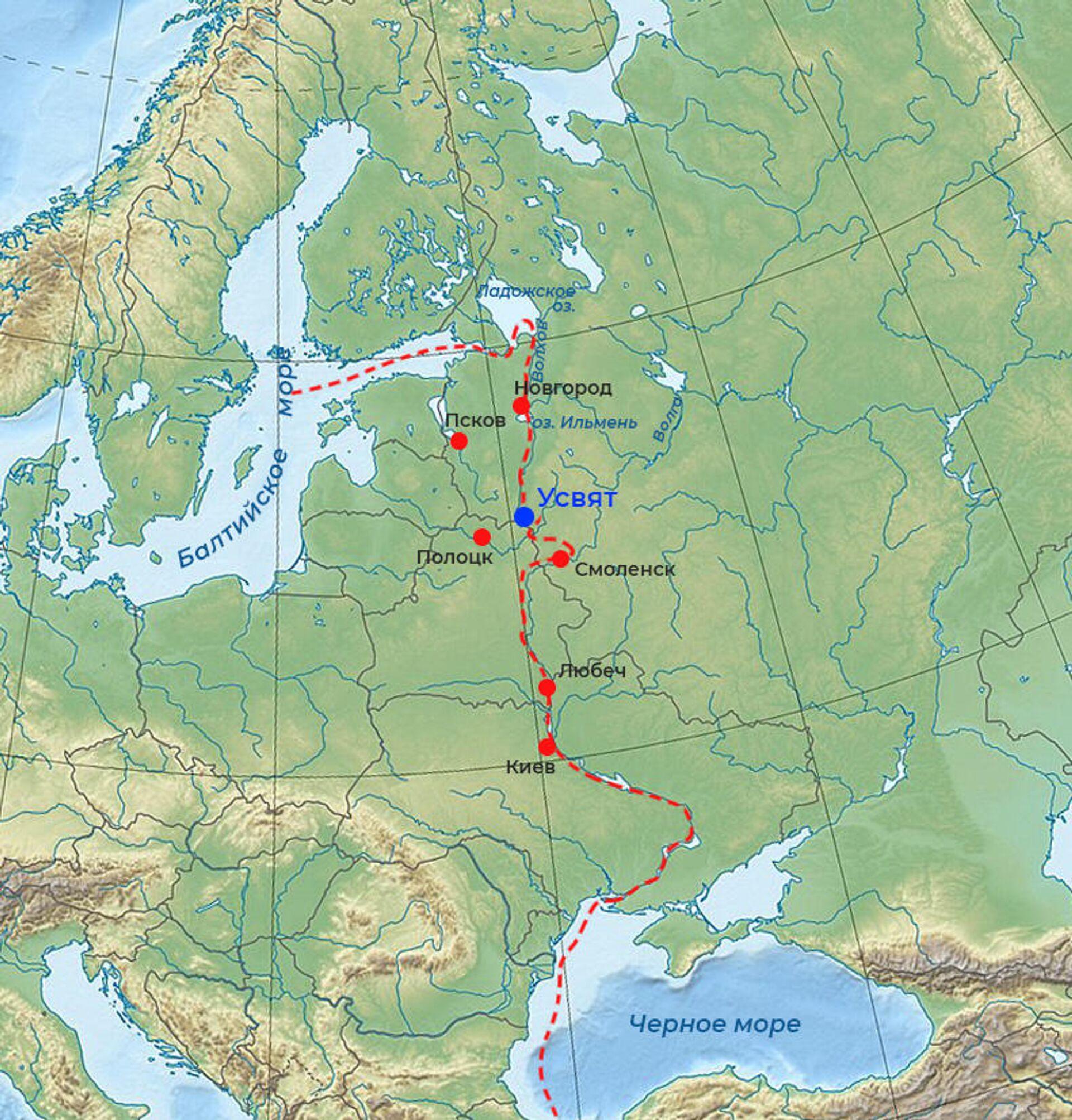 Ученые нашли город Ярослава Мудрого, разоренный литовцами и поляками