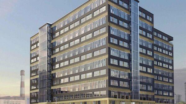 Проект торгово-офисного комплекса в составе ТПУ Щукинская