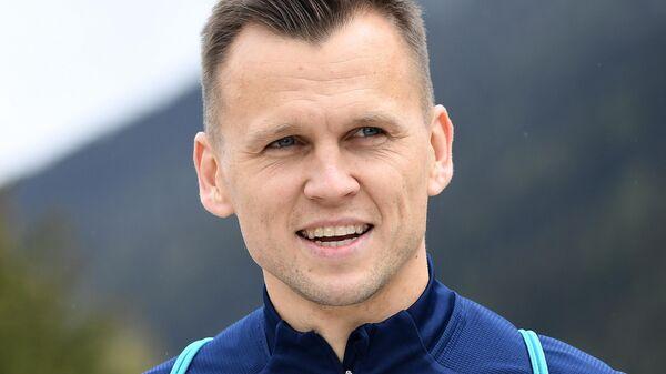 Футболист сборной России Денис Черышев