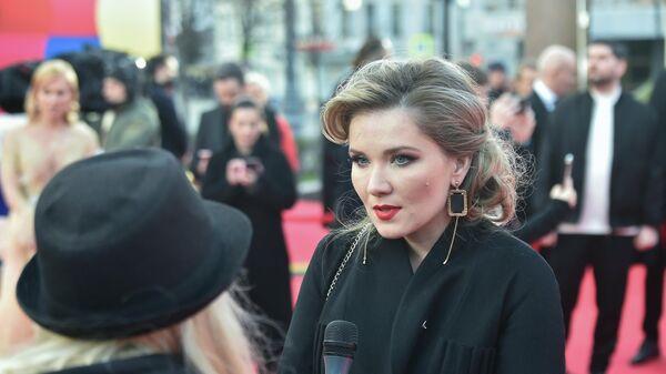 Актриса Анастасия Веденская
