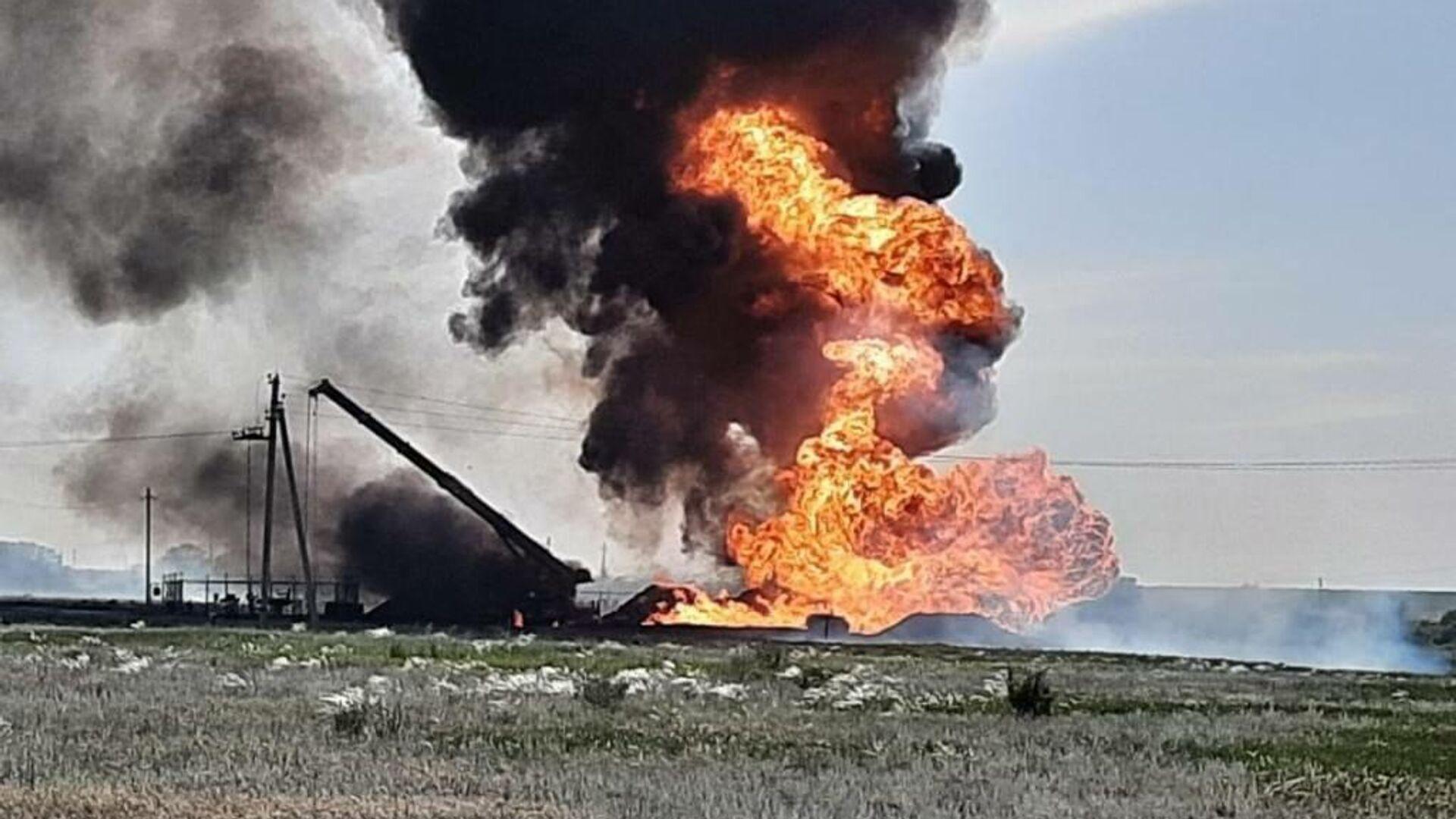 На газопроводе в Саратовской области устранили аварию